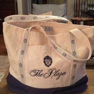 Authentic Plaza Hotel (NYC) canvas bag